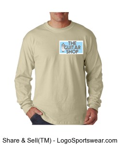 The Guitar Shop Sweat Shirt! Design Zoom